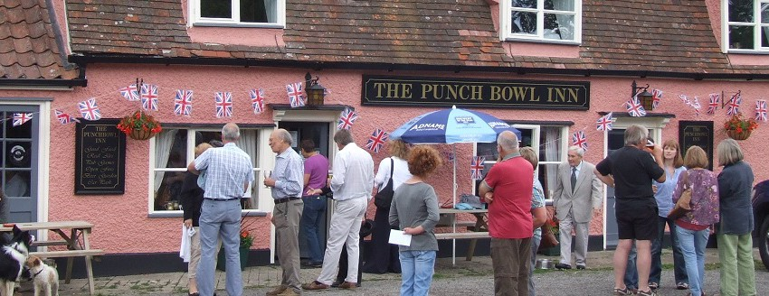 The Punch Bowl Inn, Battisford - Feature