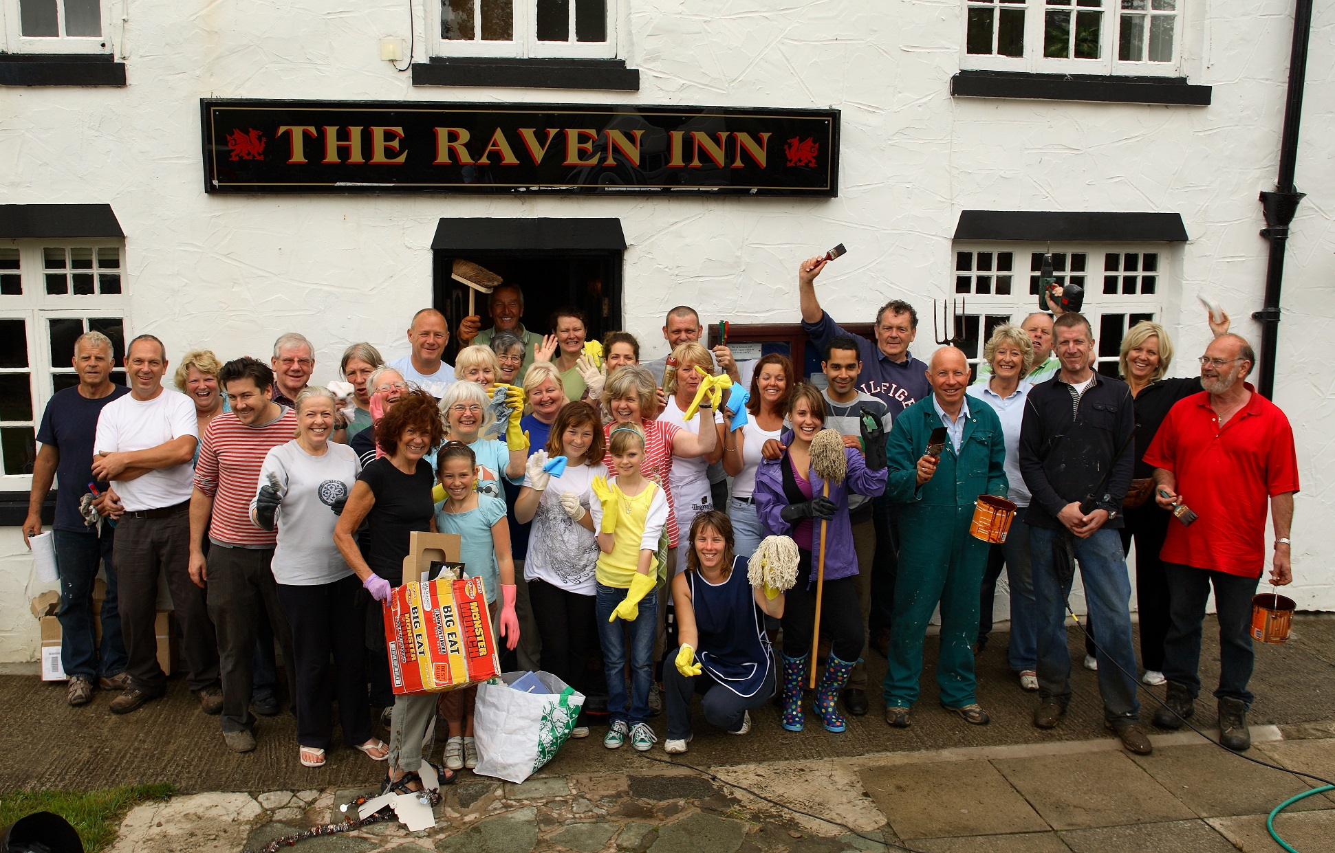 The Raven Inn, Llanarmon